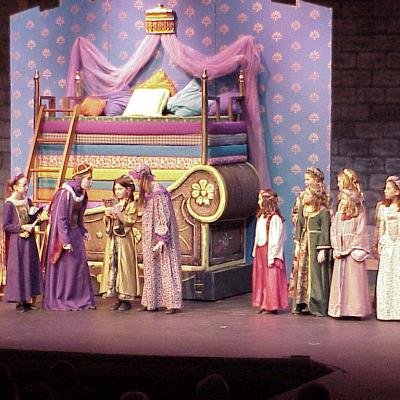 Once Upon A Mattress 2002 Bedmaids3
