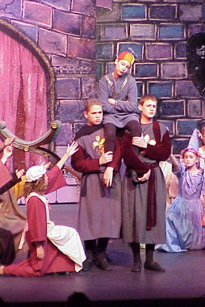 Once Upon A Mattress 2002 Opening2